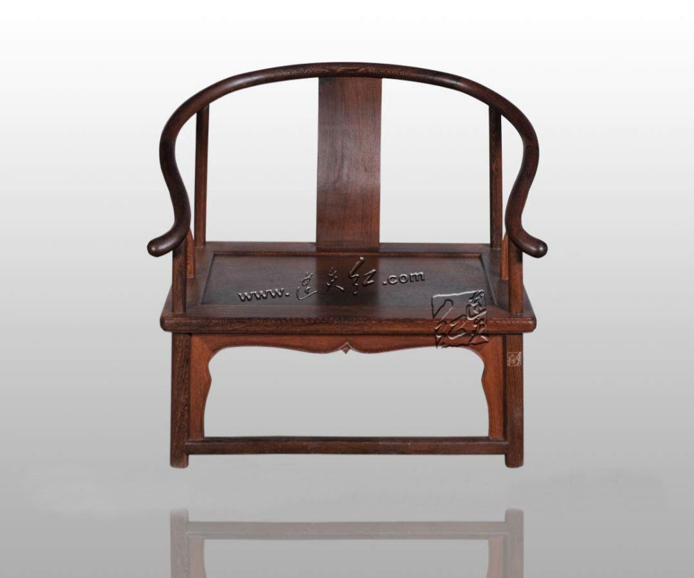 LianTianHong Classical Furniture Low armchair Burma Rosewood kitchen Dining/Living Room Bamboo seat chairs Antique Solid Wood classical rosewood armchair backed china retro antique chair with handrails solid wood living dining room furniture factory set