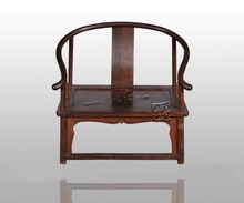 LianTianHong Classical Furniture Low armchair Burma Rosewood kitchen Dining/Living Room Bamboo seat chairs Antique Solid Wood