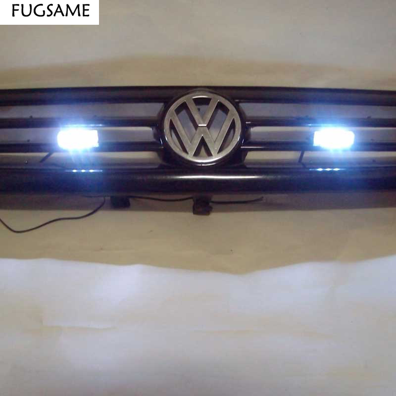 FUGSAME 2x3LED Grön Vit Amber strobe light led grön blixtljus Grön eld blinkande blinkande Strobe Emergency Car Lights Kit