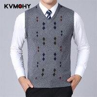 Мужской тонкий вязаный свитер, мужской полосатый пуловер, мужской свитер, приталенный Повседневный свитер, пуловеры без рукавов