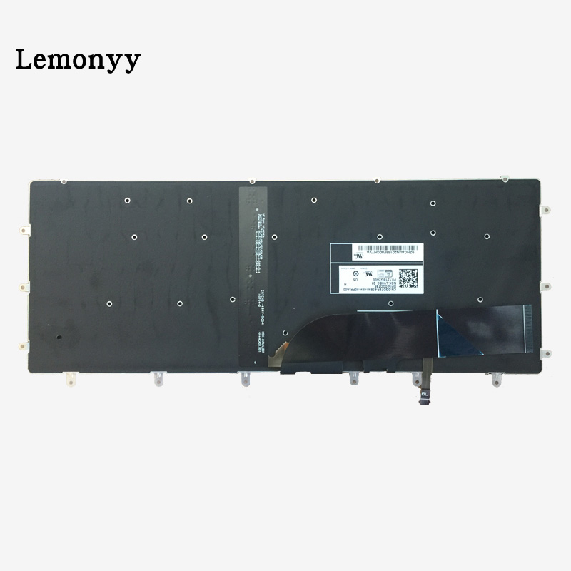 Image 3 - New US Keyboard FOR DELL XPS 15 9550 9560 laptop keyboard Backlight-in Replacement Keyboards from Computer & Office