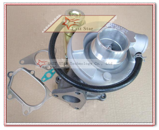 TD05 20G TD05-20G TD05-20G-8 Turbo Turbocharger For SUBARU Impreza WRX STI Turbine Engine EJ20 EJ25 MAX HP 450HP 5 bolts with gaskets pipe (5)