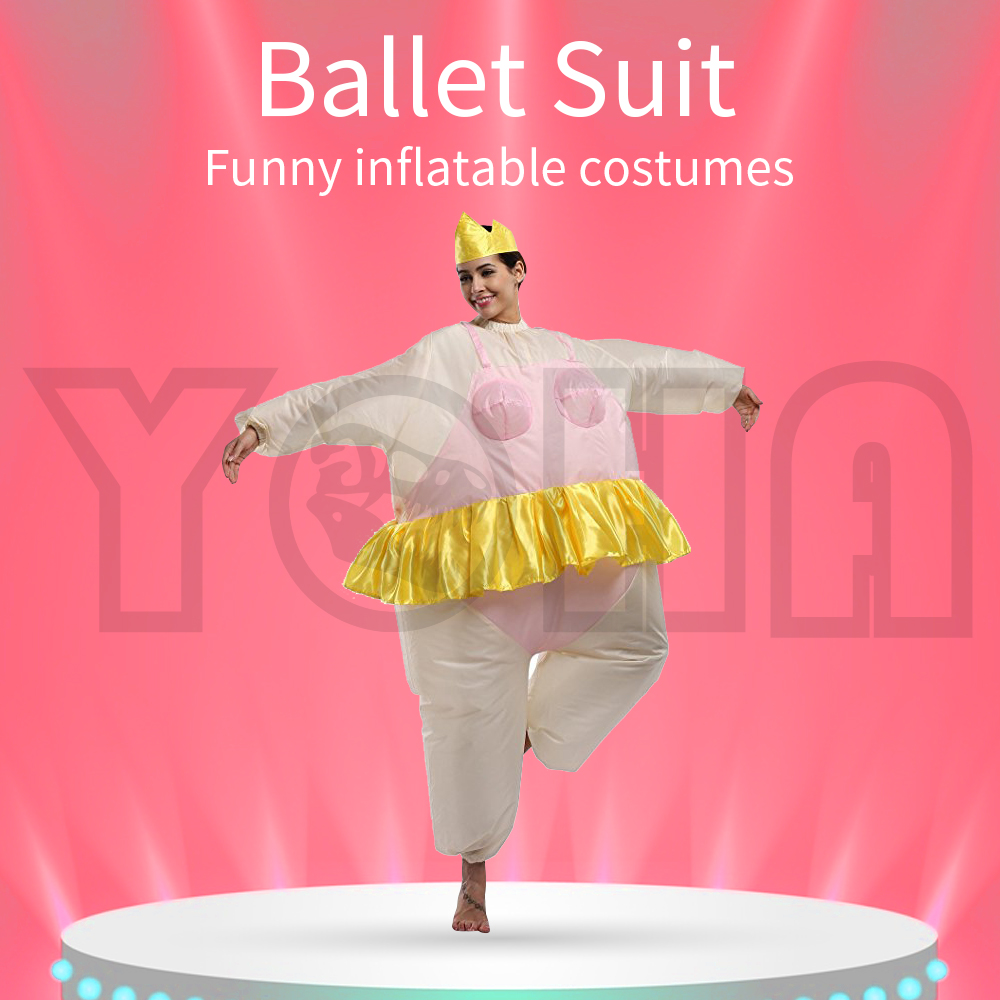Adult Inflatable Suit Ballet Costume Halloween Costume Performance Clothing Funny Clothes