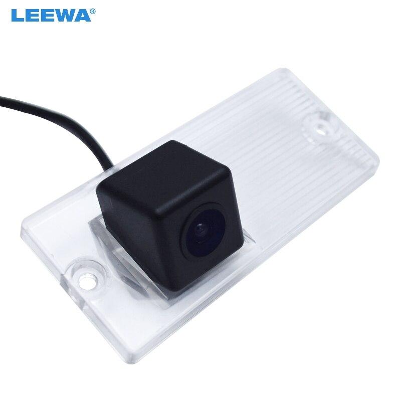 LEEWA HD CCD Câmera de Visão Traseira Do Carro Para KIA Sorento Naza MK1 2003 ~ 2008 Estacionamento Backup Kit Câmera # CA4018