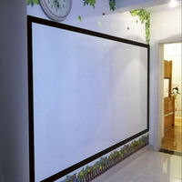 Single Side Adhesive Writing Whiteboard Dry Erase Board For Office School Children 10ft x 60(300cm x 152cm)