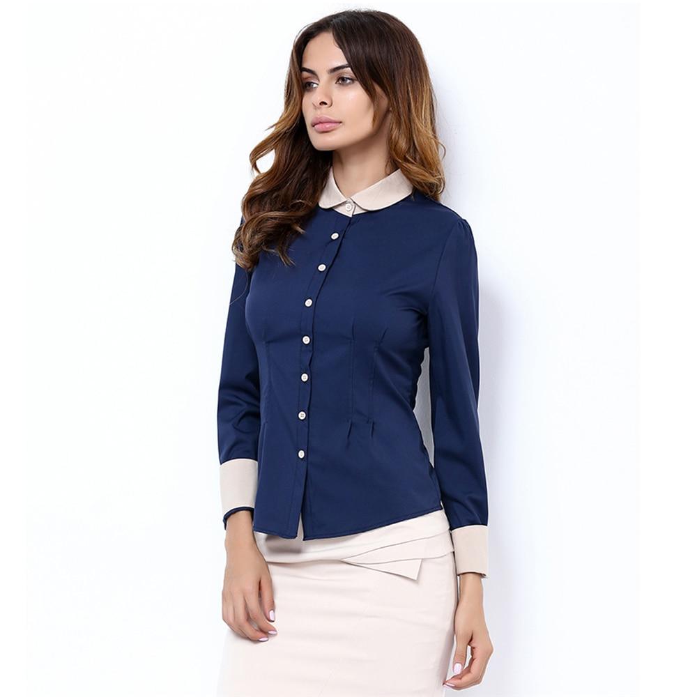 Long sleeve blouse shirt black white casual blusas renda for Best inexpensive dress shirts