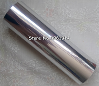 1 Roll 8 3 X131yards 21cmx120M Silver Color Hot Stamping Foil Heat Transfer Laminating Napkin Gilding