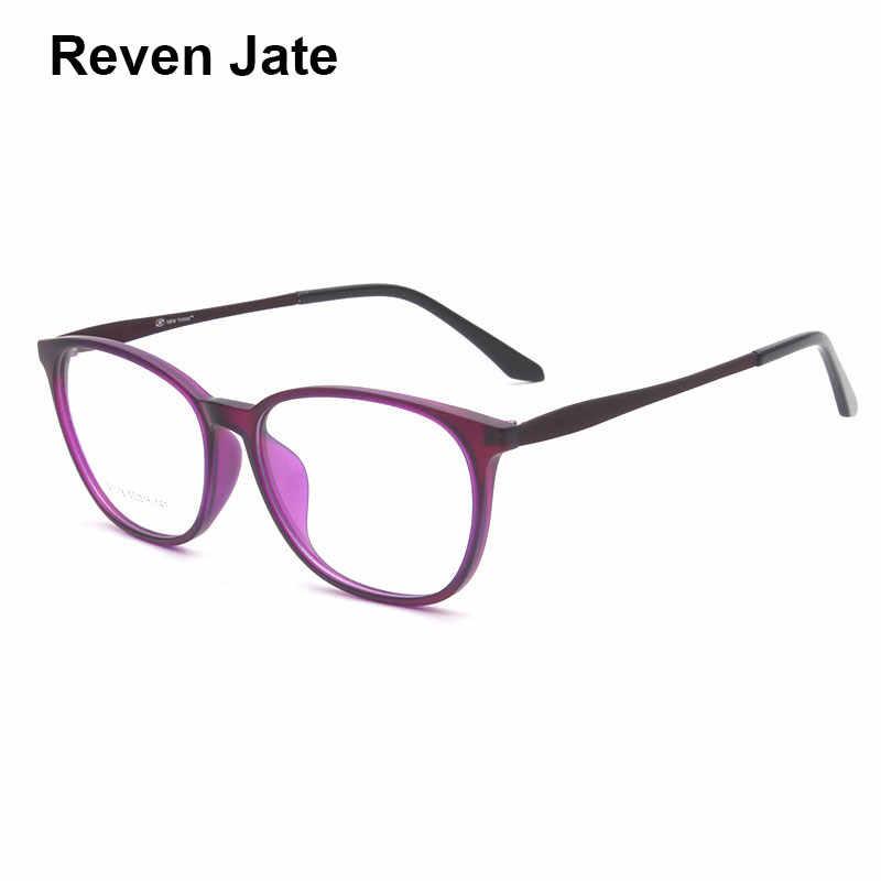 af4fc009039 Reven Jate S1016 Acetate Full Rim Flexible High Quality Eyeglasses Frame for  Men and Women Optical