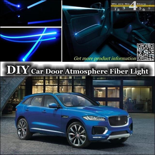 For Jaguar F Pace interior Ambient Light Tuning Atmosphere Fiber ...