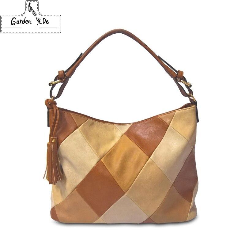 New Lady Handbag Fashion Leather Tassels Brand Waterproof Women Single Shoulder Bag Hot Selling Lady Crossbody
