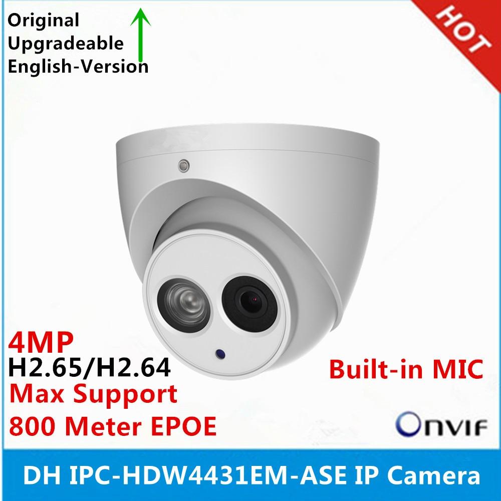 DH IPC HDW4431EM ASE metal shell H2 65 Built in MIC WDR IR 50m 4MP IP