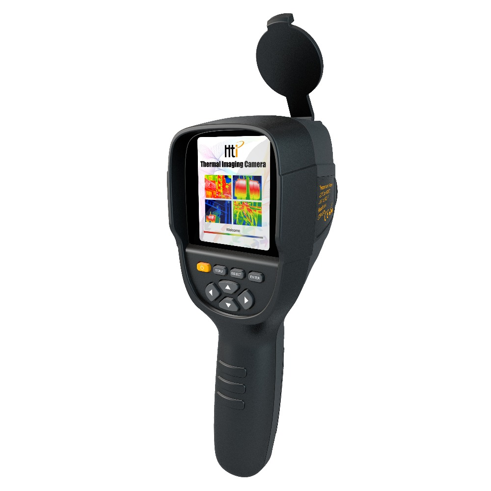 HT 19 Handheld Infrared Temperature Heat IR Digital Thermal Imager Detector Camera with storage 320x240 Resolution