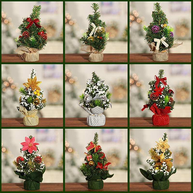 Mini Christmas Tree Artificial Trees For Home Xmas Gift 20 ...