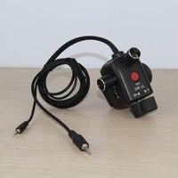 Factory supplyOpening zoom control wired remote control box for 180 dvc63 HVX200 hvx203 hmc153 AC130 AC160 HMC41E