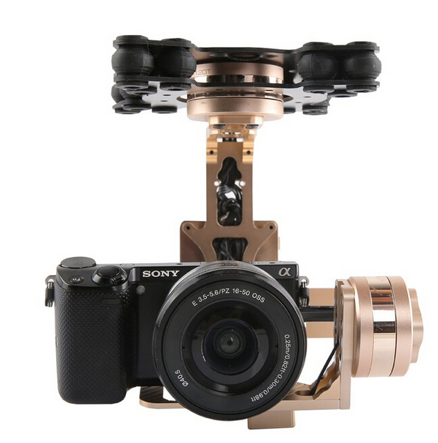 Gimbal G40 3 Axis DLSR Aerial Gimbal for SONY 5N,RX-100,BMPCC Camera