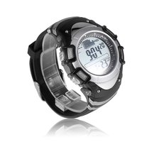 Sunroad Digital Fishing Watch Barometer 3ATM Waterproof Sport Wrist Watches for Men Thermometer Altimeter Fishing Watches reloj