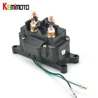 KEMiMOTO For Polaris RZR 900 RZR XP 1000 ACE 570 ATV UTV Winch Solenoid Contactor For