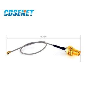 Image 2 - Cable de extensión de antena Wifi, 10 unidades/lote, adaptador IPX, 20cm, XC IPX SMA, UFL a RP SMA