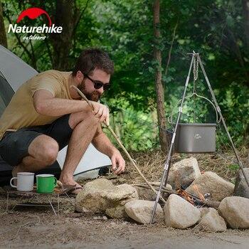 Juego De Utensilios De Cocina | NatureHike 4L Maceta De Camping Al Aire Libre Olla De Cocina Utensilios De 4-6 Personas Para Camping Picnic Set Maceta Camping Picnic NH17D021-G