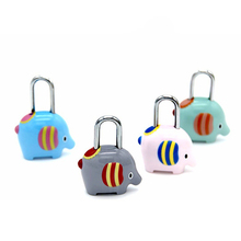 Cute Elephant shape password lock Cartoon luggage lock Zinc alloy lock for Travel bag mail box cosmetic bag pencil case notebook цена 2017