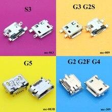 ChengHaoRan For JiaYu S3 G2 G4 G5 G3 G2S G2F USB Micro USB Data Sync Charging Port Connector Plug Universal Horn feet 7.2 mm DIP