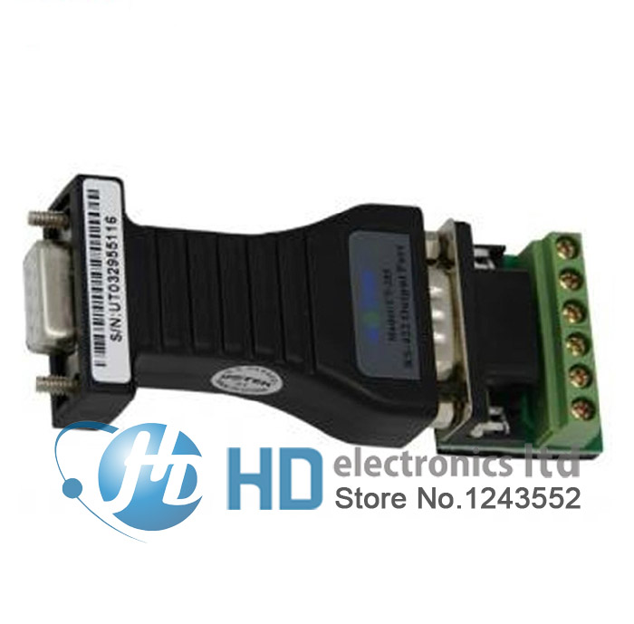 RS-232 to RS-422 UT-205 Commercial grade high-powered interface converter from RS232 to RS422 rs232 to rs485 422 converter switch 422 to 232 optical isolation module