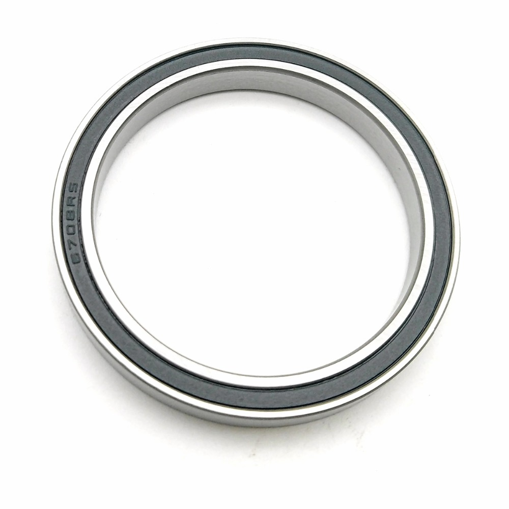 Black Rubber Sealed Ball Bearing Bearings 6909RS 5pcs 6909-2RS 45x68x12 mm