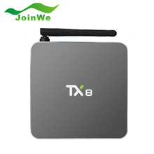 2016 TX8 TV Box Android 6.0 2G 32G Amlogic S912 Octa core Android6.0 Set top box HDMI H.265 WIFI Media Player Smart tv caja