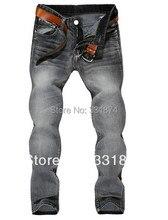 Новая мода 2016 досуг случайные Розничных мужская весной и летом джинсы новые марки джинсы, мужские джинсы брюки