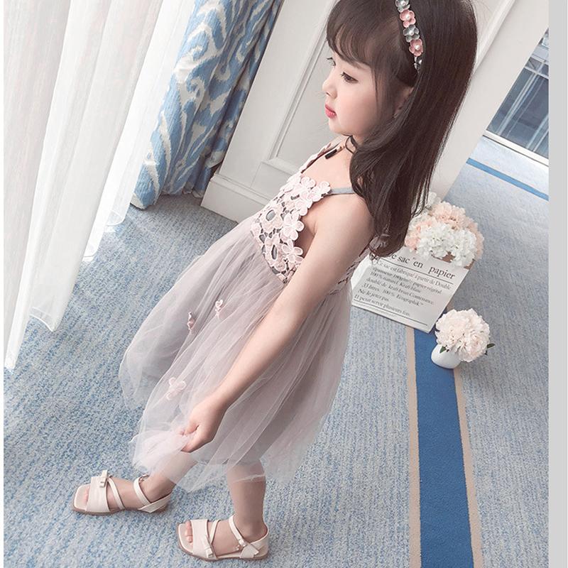 HTB19RSGiQZmBKNjSZPiq6xFNVXao - Sodawn 2018 New Children Clothing Fashion Girls Dress Lace Fluffy Pop Princess Dresses Baby Girls Clothing Summer New Kids Dress