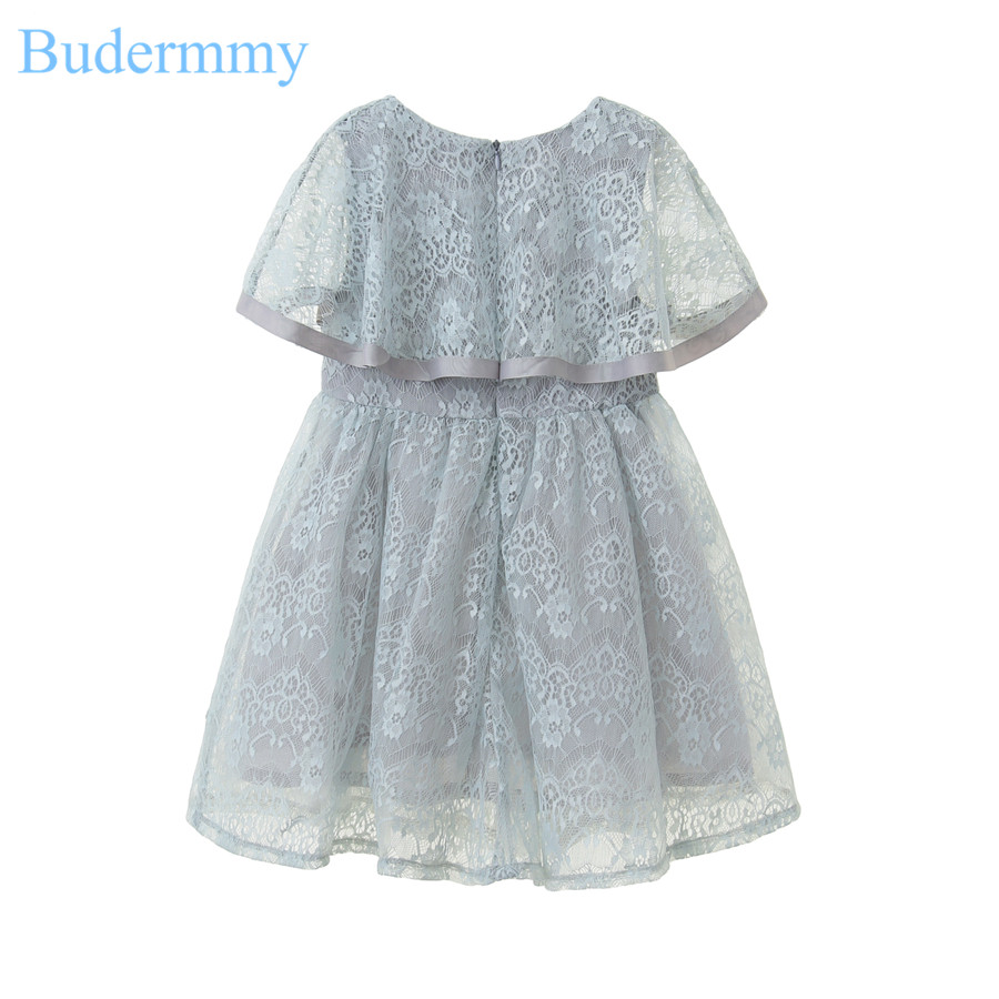 Toddler Girls Dress Flower Shawl Formal Pink White Brand Design ...