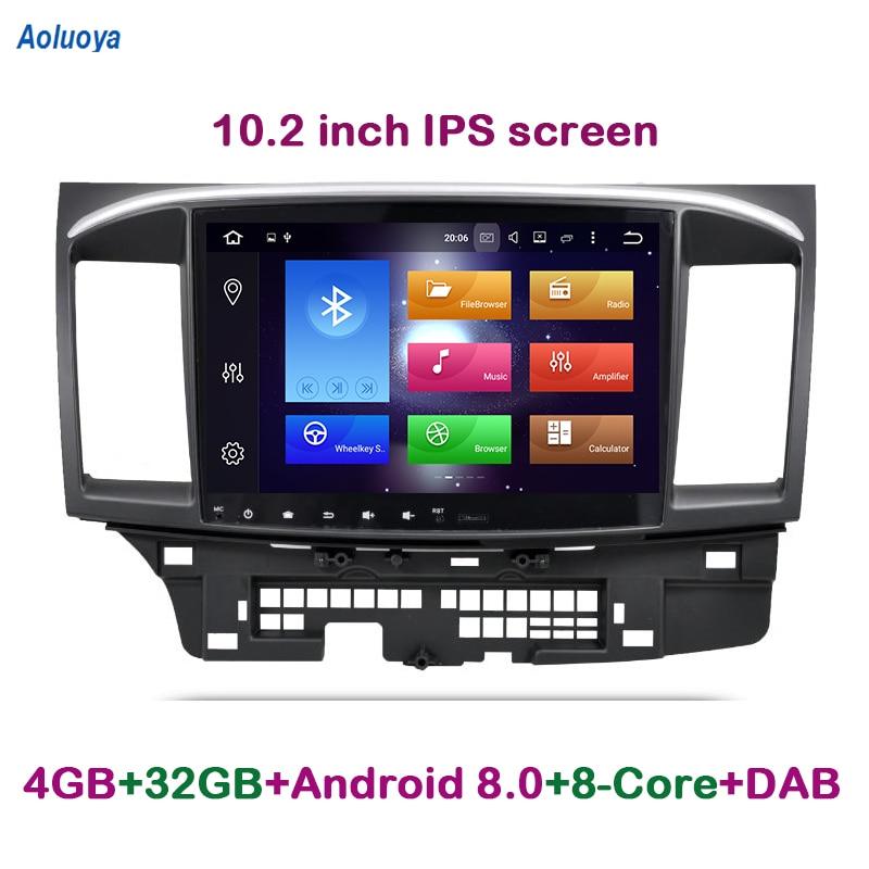 Aoluoya IPS 4G RAM 32G ROM Octa Core Android 8.0 AUTO DVD GPS-speler - Auto-elektronica