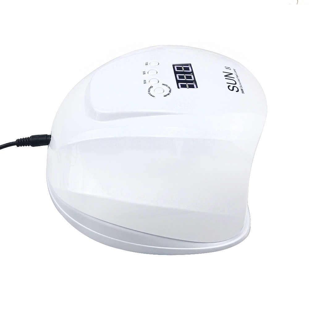 48 Вт/54 Вт/80 Вт SUN X Сушилка для ногтей УФ-лампа светодиодный светильник для ногтей для гель-лака Искусство Авто свет ручной сенсор инструменты для ногтей