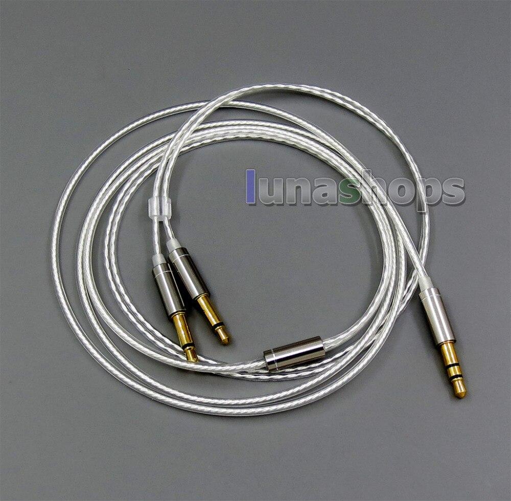 Pure Silver Plated Cable For Hifiman Sundara Ananda HE1000se HE6se He400 LN006067