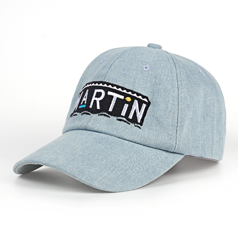 Talk Show Variety Baseball Cap Martin Show Cap Cowboy Washed High Quality Adjustable Dad Hat Hip Hop Fans Snapback Hats cowboy hat cap cap flat top hat lace rhinestone flower hooded fashion tide cap cap riding hood
