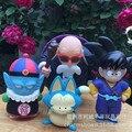 4 pçs/set Dragon Ball Z Sun Goku Pilaf Puar mestre kame figura de ação PVC coleção figuras brinquedos brinquedos para presente de natal