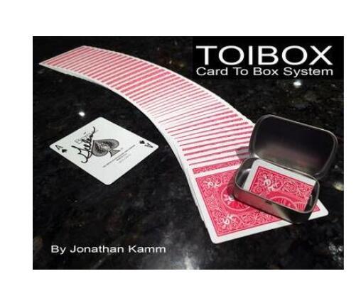 2016 Toibox Card To Box System By Jonathan Kamm Magic Tricks