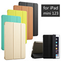 High Quality PU Leather Tablet Smart Case Cover Ultra Slim Designer For APPle iPad mini 1 2 3 mini1 mini2 mini3 Retina