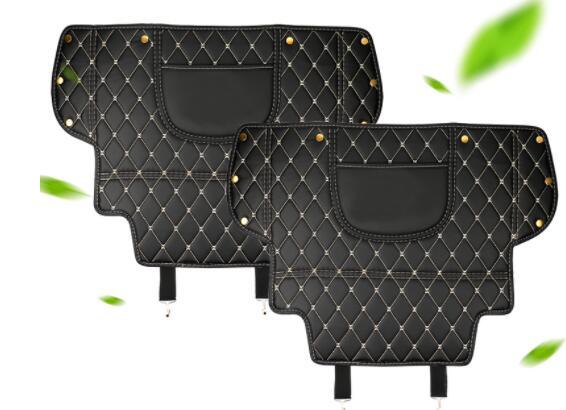 Audi için Q3 koltuk geri anti-kick pad Q3 dekorasyon 09-18 Q3 araba iç aksesuarları Q3
