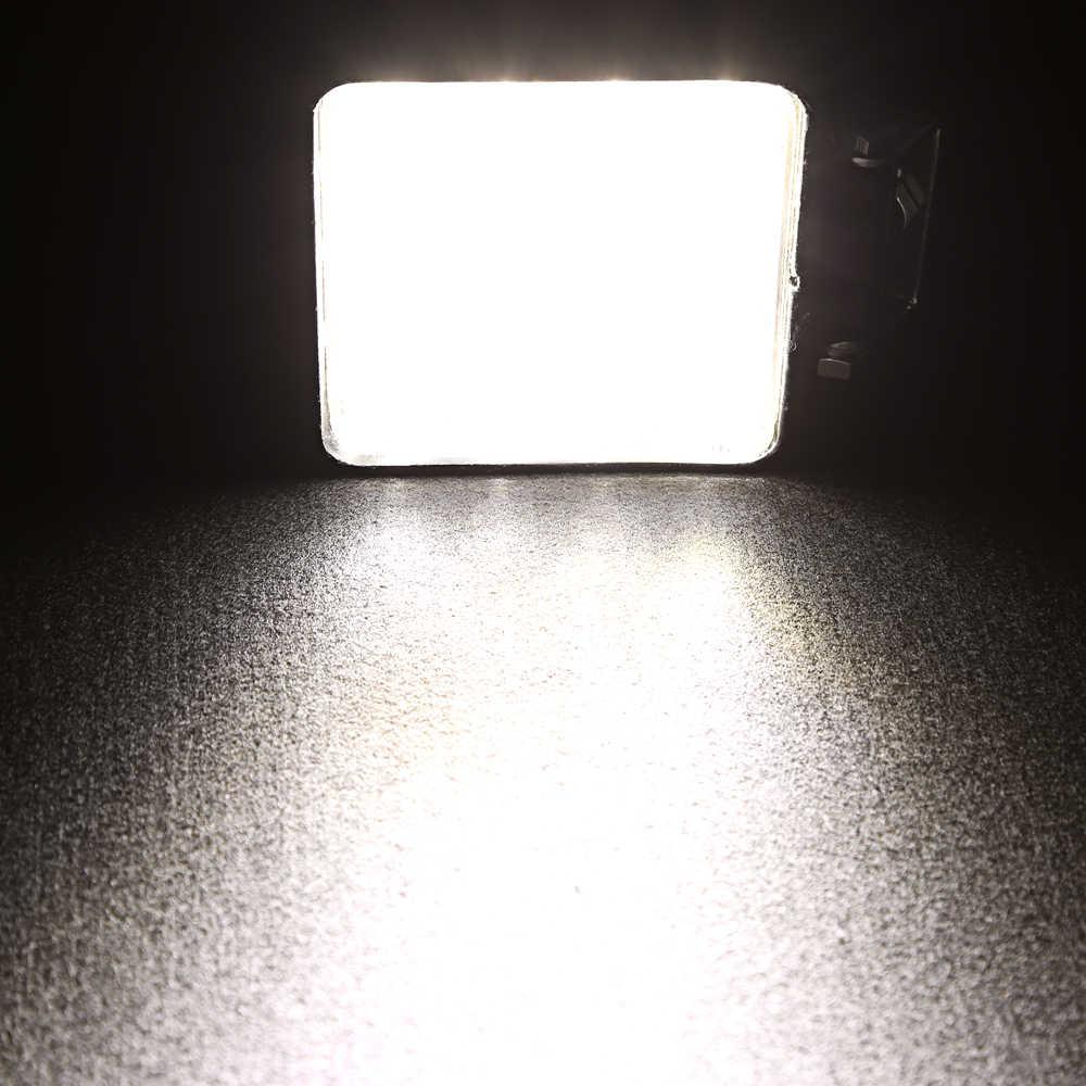 10 قطعة رقيقة 48 W 12 V ضوء العمل الطرق الوعرة الاكسسوارات بقعة كشاف ضوء 12 فولت مقطورة 4x4 SUV ATV مصباح ليد بار القيادة مصباح العمل