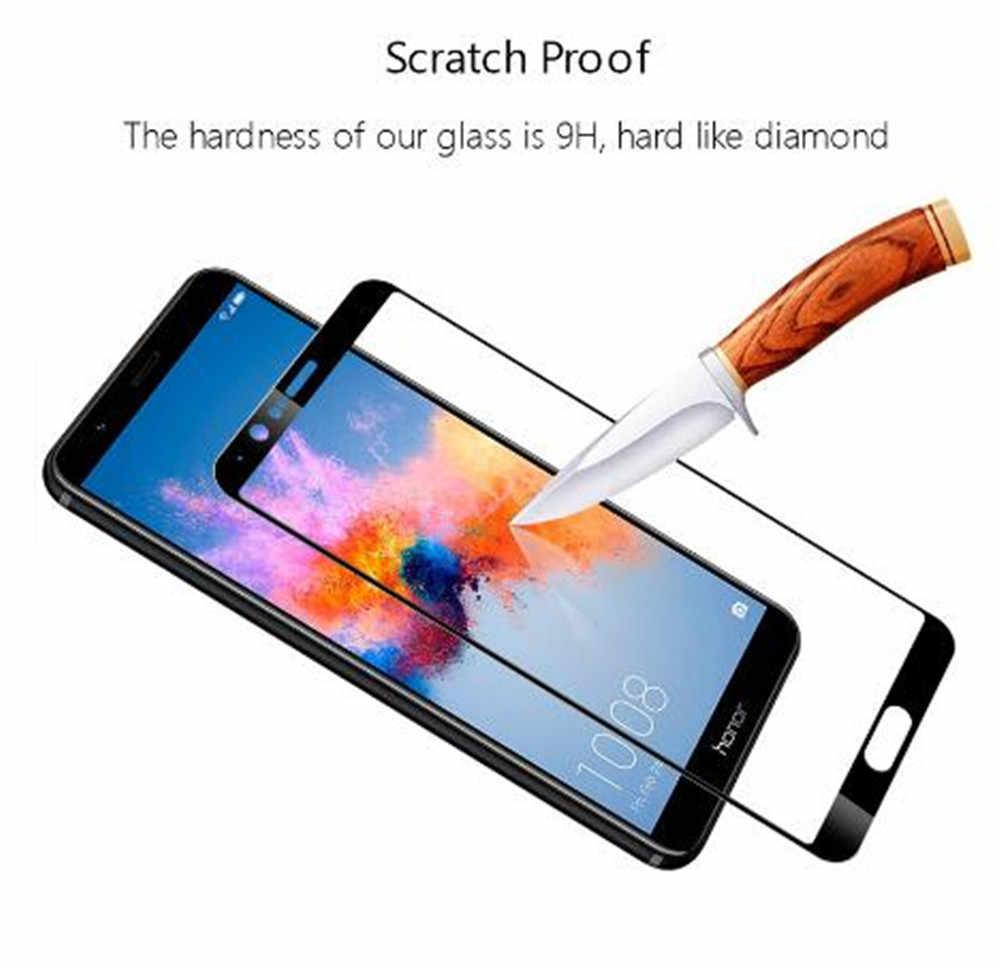 2 قطعة غطاء كامل واقي للشاشة ل Zte بليد V10 الزجاج المقسى على ل Zte بليد V10 فيتا زجاج واقي الفيلم