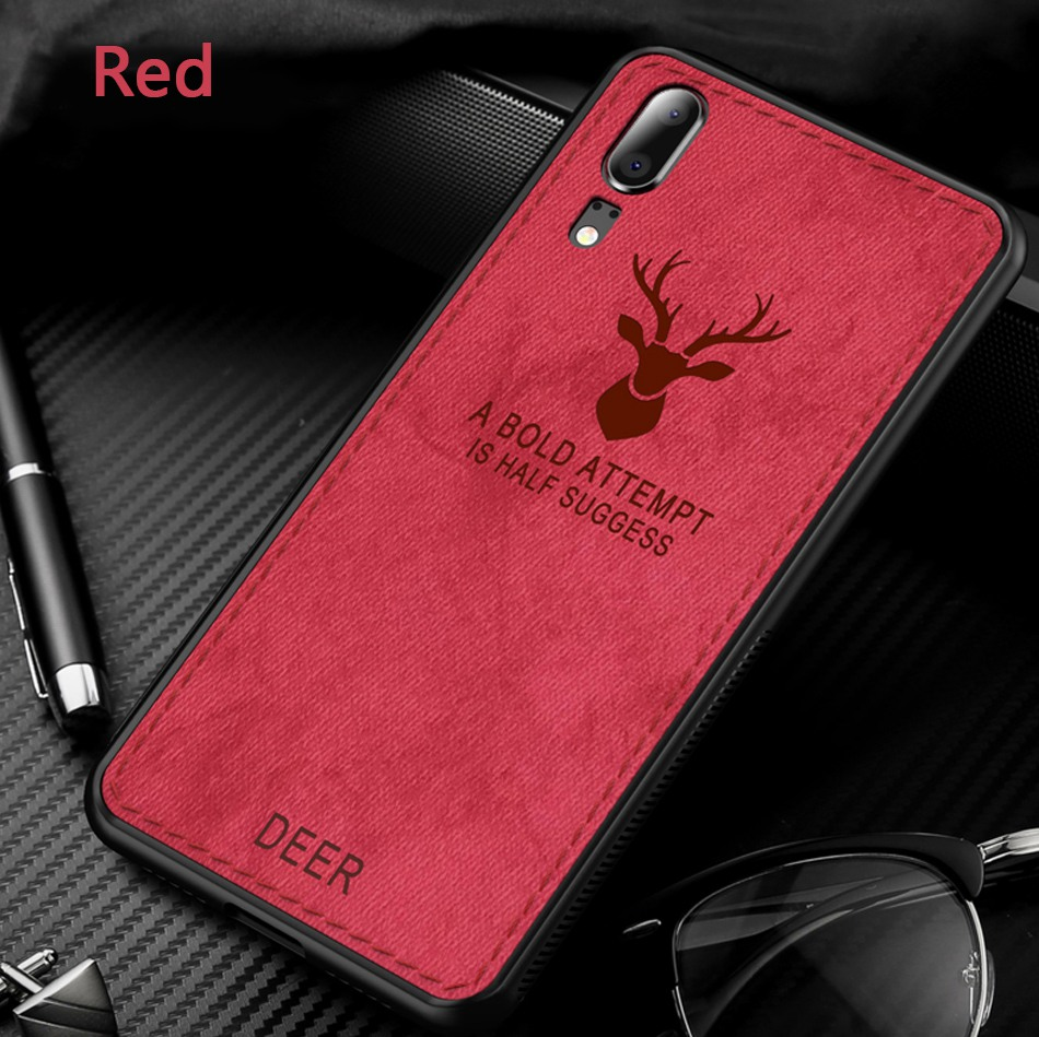 Case For Huawei P20 Lite Case Pro Cloth Deer Cover For Honor 10 V10 8X Note 10 9 Mate 10 P10 Lite Nova 3 3I Case P Smart Plus