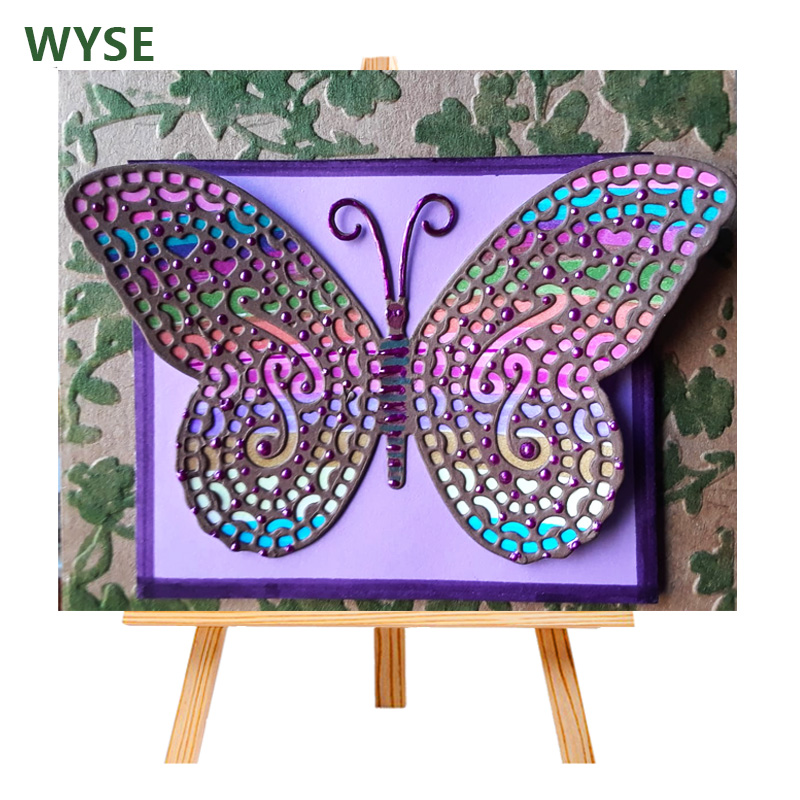 butterfly Metal Cutting Dies For DIY Scrapbooking Card Paper Album CYC