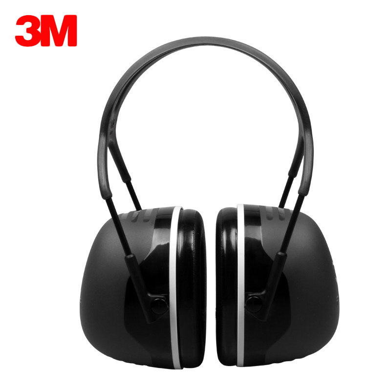 3M X5A Earmuffs Anti-noise Hearing Ear Protector Comfortable Sound Insulation Ear muffs Noise Reduction For Work Sleep Shooting adjustable anti noise head earmuffs noise insulation ear protector nrr 30db for work study shooting woodwork hearing protection