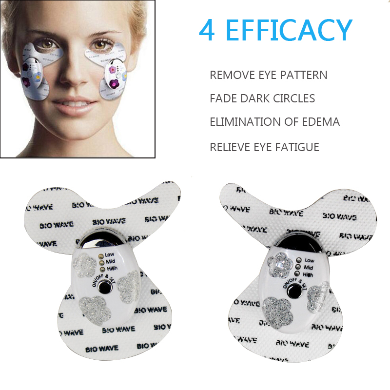 ФОТО Microcurrent EMS Muscle Stimulation Face Lift Anti Wrinkle Eye Slack Toning Firm Face Facial Skin Care Massager remove eyebags