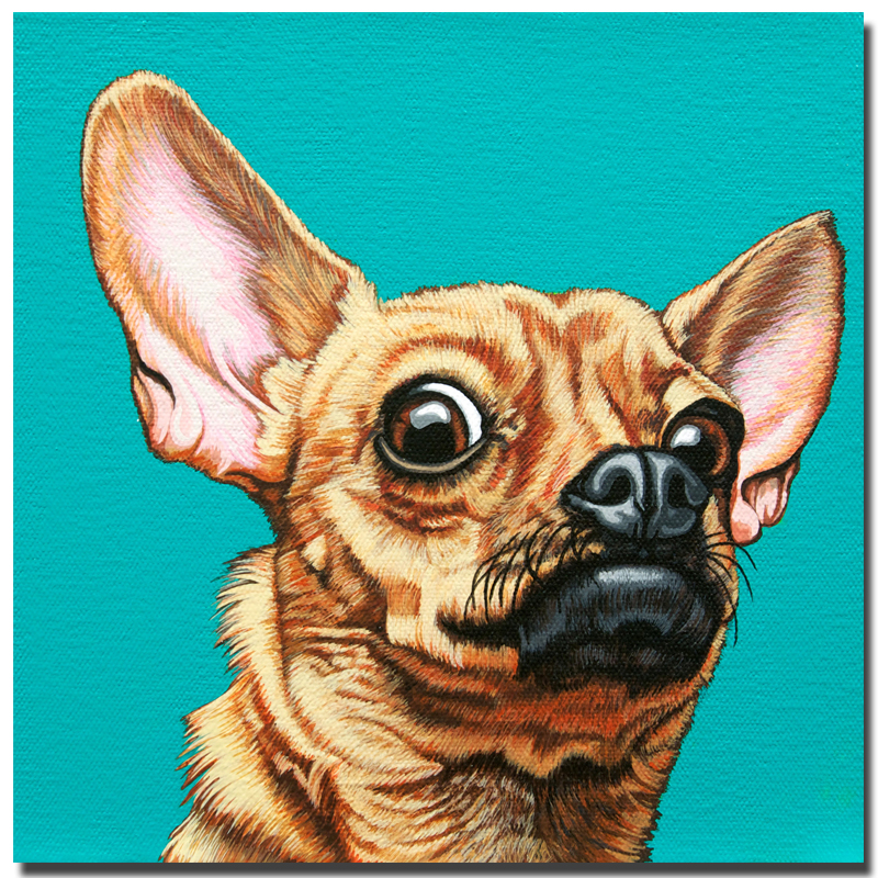 2017 Rushed Sale Fallout Cuadros Decoracion Cartoon Animal Painting Prints On Canvas No Frame Dog Pictures Decor for Living Room
