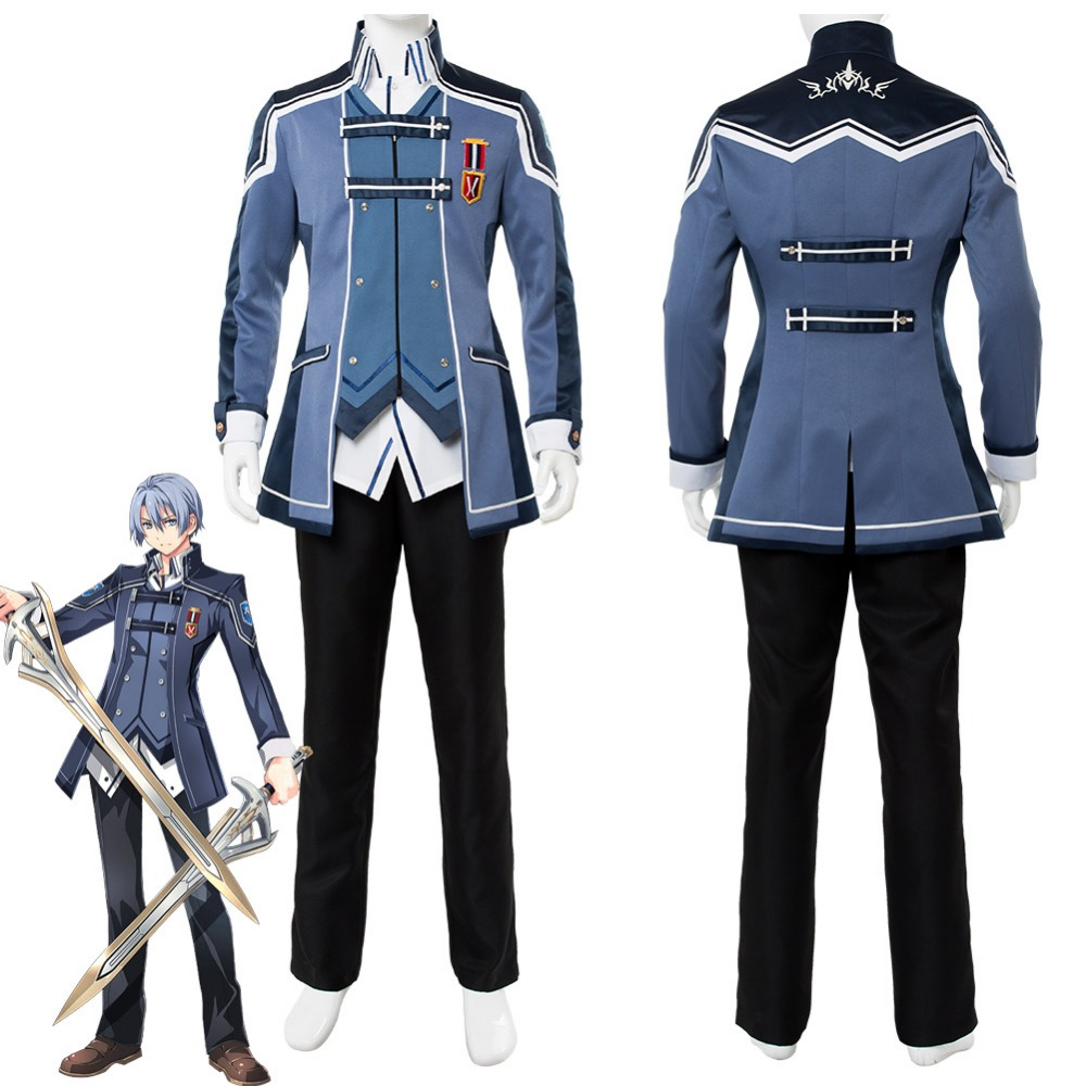 The Legend of Heroes: Trails of Cold Steel Kurt Vander Cosplay Costume Outfit