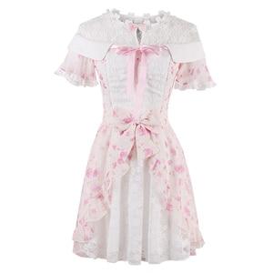Image 5 - Princess sweet lolita dress  new candy sweet slim short sleeved Japanese style C22AB7066