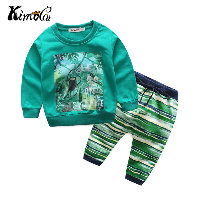 f7ffb243c Kimocat baby boy and girl clothes Spring and autumn long sleeved ...