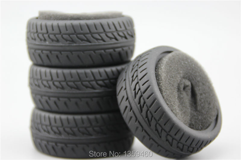 1/10 High Performance Rubber Tires Tyre(Triangle)  fits for 1:10 Touring Car 1/10 Tire natural rubber